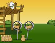 hamsters -